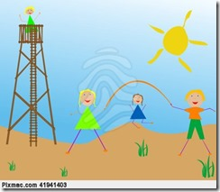 2014-04-16_kids-playing-in-the-sun-action-pixmac-illustration-41941403